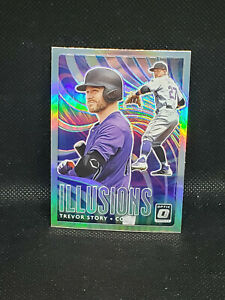 2020 Optic ILLUSIONS #OI 14 Trevor Story SILVER HOLO PRIZM PARALLEL G29 $3.00