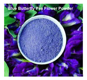 Organic Blue Butterfly Pea Flower Powder Healthy BEST Pure Natural HS code 1211 $3.40