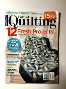 Love Of Quilting Magazine March April 2017 Fons amp; Porter $7.95