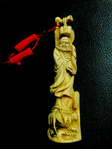 netsuke antique With Coral $299.00