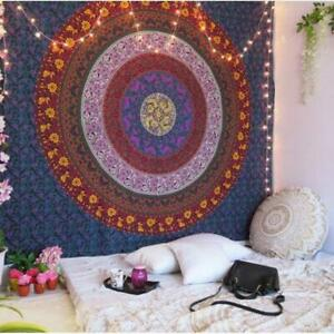 Mandala Tapestry Indian Wall Hanging Decor Bohemian Hippie Queen Bedspread Throw $19.99