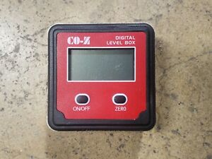 CO Z Digital Level Box Digital Protractor Angle Fiinder Battery Included $14.95