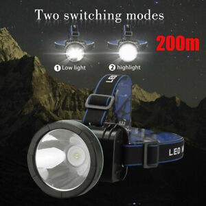 Super Bright Led Headlamp Rechargeable Head Lamp Light Torch For Fishing Hunting $11.89