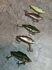 .25 oz RATTLE TRAP FISHING LURES LOT