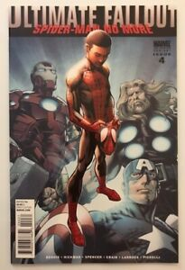 ULTIMATE FALLOUT #4 2nd PRINTING VARIANT NM FIRST APPEARANCE MILES MORALES $150.00