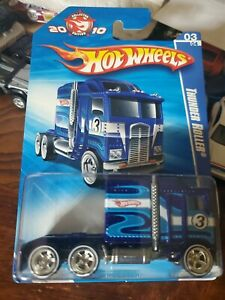 Hot Wheels Thunder Roller 2010 Collector EditionReal Riders Die Cast Metal Base $69.95