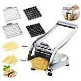 Stainless Steel French Fry Cutter Vegetable Chip Maker Home Potato Chopper