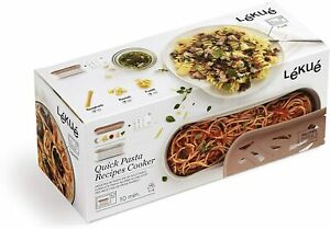 Lekue Quick microwave pasta cooker one size Terracotta