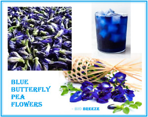 BLUE BUTTERFLY PEA FLOWER WHOLES Dehydrated Grade A HS Code 200990 $2.99