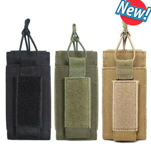 Tactical Molle Magazine Pouches 5.56 9mm Rifle Pistol Bag Holder Hunting 1000D