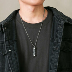 Ashes Pendant Stainless Steel Hourglass Necklace for Ashes Keepsake $9.12