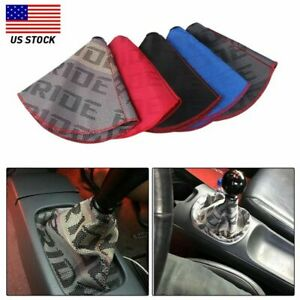 Shifter Boot Cover Bride Racing Hyper Fabric Shift Knob MT AT Stitches for Honda $10.38