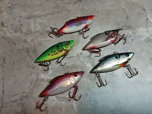 .5 oz RATTLE TRAP FISHING LURES LOT