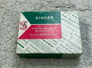 SINGER Sewing Machine Attachments For Class 503 Machines Not Complete Vintage $28.80
