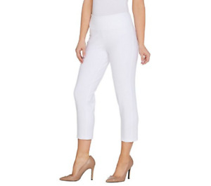 Wicked by Women with Control Regular Crop Pants Medium White