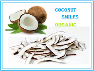COCONUT SMILES DESICCATED COCONUT CHIPS ORGANIC HS Code 1203 $2.70