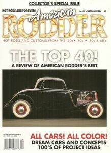 AMERICAN RODDER 1994 SEPT TOP 40 BEST RODS DREAM CARS amp; CONCEPTS SPECIAL