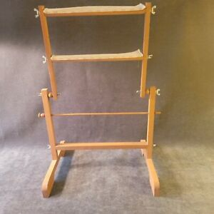 Antique Wooden Clothes Herb Dryer Rack Collapsible Portable $42.00