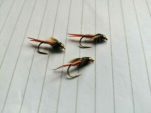 Copper John Fly Fishing Deep Down Trout Lures Wet Flies Size 10