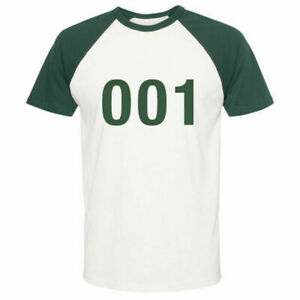 Squid Game Player PICK YOUR OWN NUMBER NO EXTRA CHARGE Unisex SHIRT S 5XL