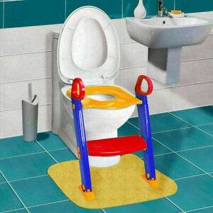 Baby Trainer Toilet Potty Seat Chair Kids Toddler Ladder Step Up Training Stool $17.99