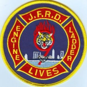 FLORIDA JACKSONVILLE FIRE RESCUE DEPARTMENT STATION 9 Patch