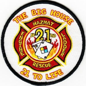 FLORIDA JACKSONVILLE FIRE RESCUE DEPARTMENT STATION 21 Patch