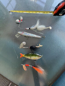 musky lures lot
