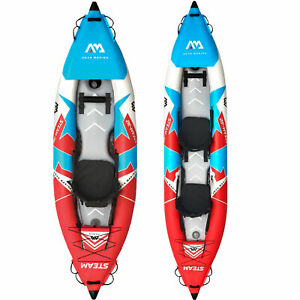 Aqua Marina Steam One Two Kayak Paddle Boat 1 2 Person Inflatable Boat