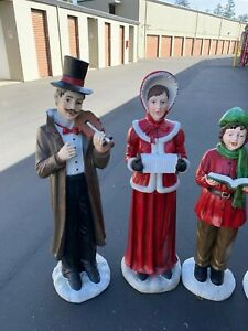 Caroler Male large outdoor holiday decoration $450.00