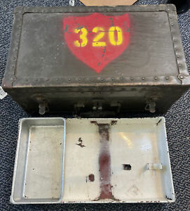 Vintage Military Army issued Barber Kit Box No Contents $100.00