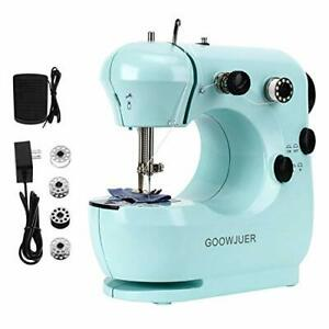 Portable Mini Sewing MachineLightweight Electric Sewing Machines with $34.95