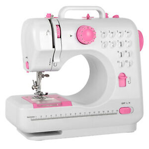 Mini Sewing Machine Portable Electric Foot Pedal Home Crafting DIY Project Tools $40.49