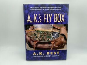 A. K.#x27;s Fly Box Best Fishing Techniques Tools How To Tie Quill Midge Cahill Duns