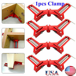 90°Degree Right Angle Picture Frame Corner Clamp Holder Woodworking Hand Kit US $10.16