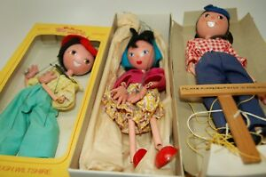 puppet 1960 s lot 3 mother father boy orig