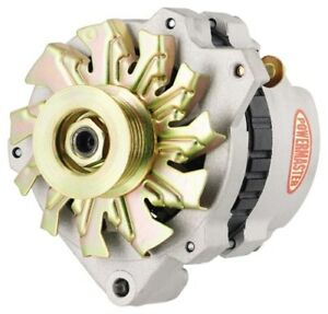 Powermaster 478611 GM 140 Amp CS130 Alternator w1V Pulley & One Wire VR Natural