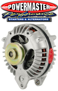 Powermaster 7018 Chrysler Round Back Alternator 90 Amp 1V Pulley Natural