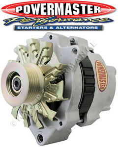 Powermaster 478601 GM CS130 Alternator 140 Amp w One Wire VR Natural