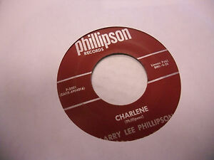 Larry Lee Phillipson Standing In The Corner 45 RPM private press VG+ Rockabilly