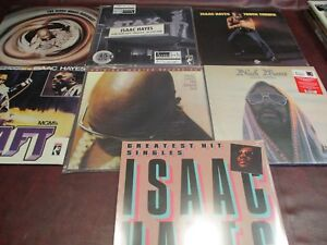 ISAAC HAYES Hot Buttered Soul MFSL + SHAFT + 45 + MOVEMENT + TRUCKDRIVER + MOSES