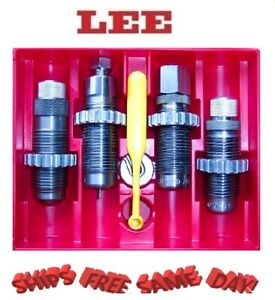 90964 Lee Precision Deluxe Carbide 4 Die Set 38 Special  357 Magnum 90964 New!