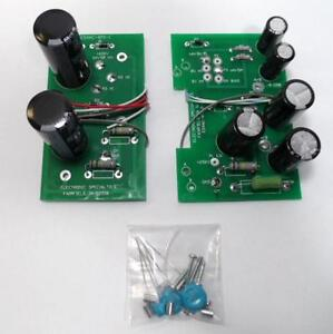 RL Drake AC 4 Power Supply Rebuild Kit with Pre Assembled Boards Made in the USA