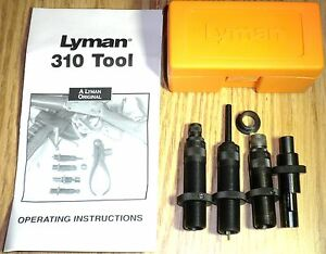 Lyman 310 Tool 4-Die Set 38 Special 357 Magnum 7020127 SHIPS PRIORITY MAIL FREE