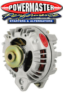 Powermaster 7519 Chrysler 90 Amp Alternator Square Back 1V-Pulley Natural