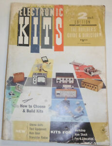 Electronic Kits Magazine How To Choose amp; Build Kits 1959 2nd Edition 090314R2
