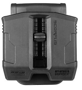 PS-9S FAB Defense Double Magazine Pouch with Swivel for CZ