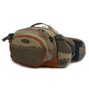 FISHPOND WATERDANCE FLY FISHING GUIDE CHEST LUMBAR PACK DRIFTWOOD FREE US SHIP