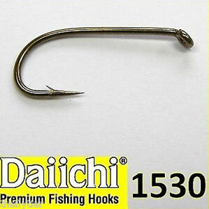 DAIICHI 1530 Nymph Wet Fly Hook 100ct box fly tying