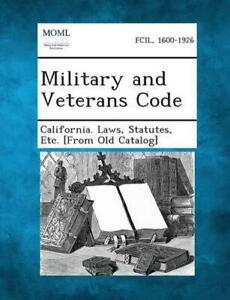 Military and Veterans Code (English) Paperback Book Free Shipping!